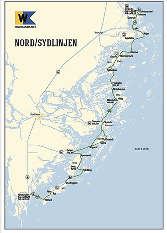 Nord sydlinjen 2017